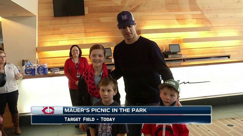 Mauer's Picnic in the Park event