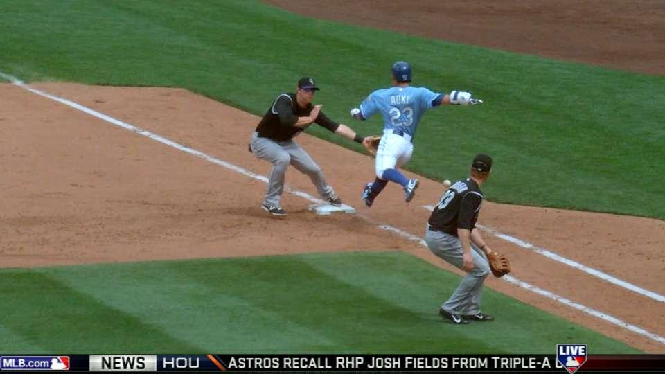 MLB Tonight: Aoki's interference