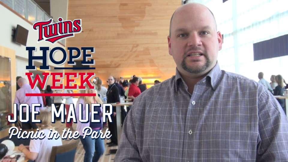 Hope Week: Mauer's pizza picnic