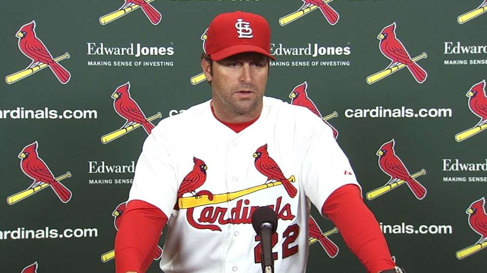 Matheny on Wacha's big game