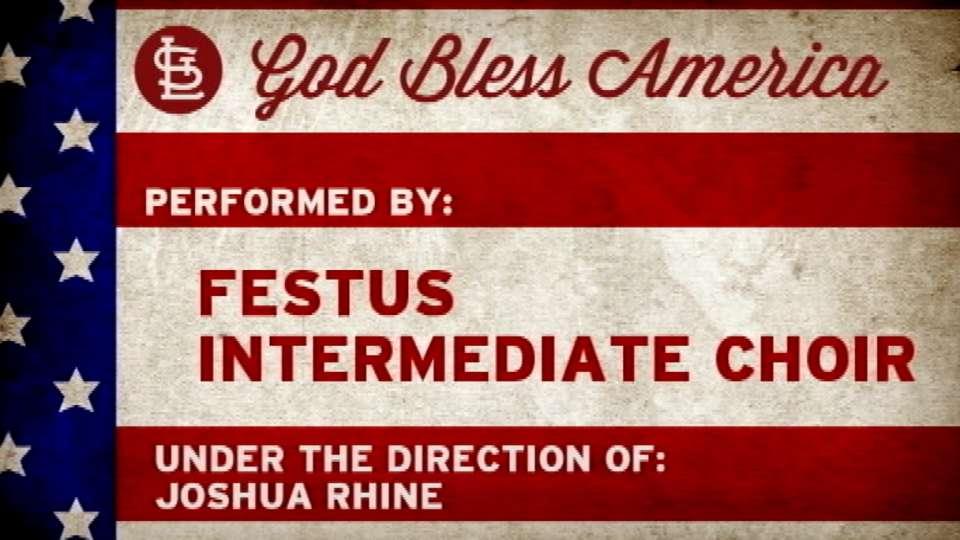 4/19/14: Festus Choir anthem