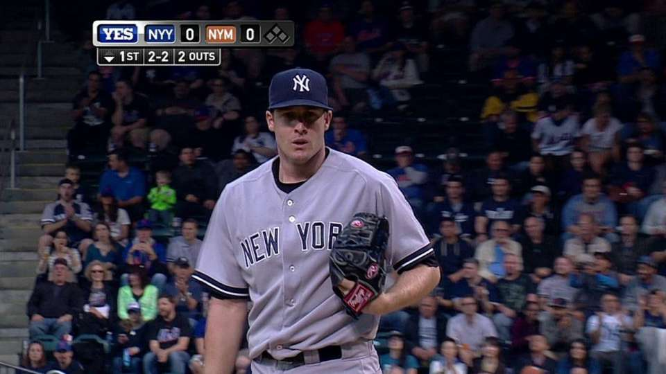 Whitley's first career strikeout