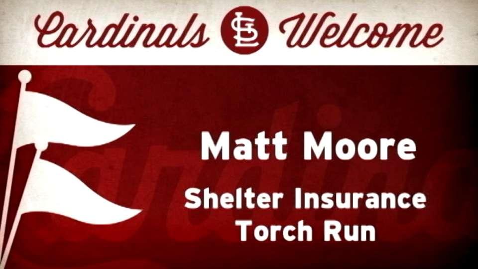 4/29/14: Matt Moore First Pitch