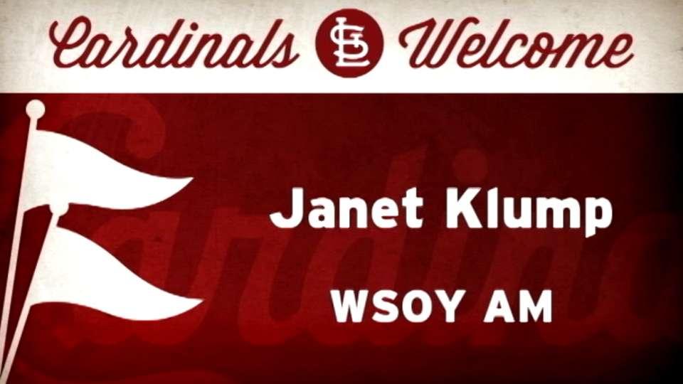 4/30/14: First pitch: J. Klump