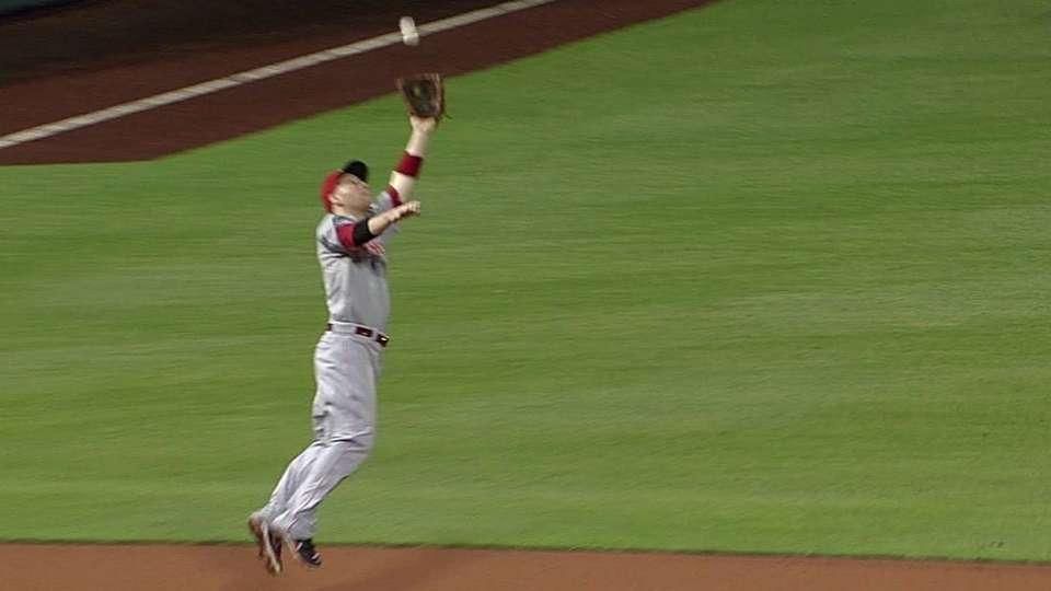 Frazier's nice catch