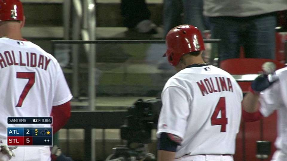 Molina's sacrifice fly