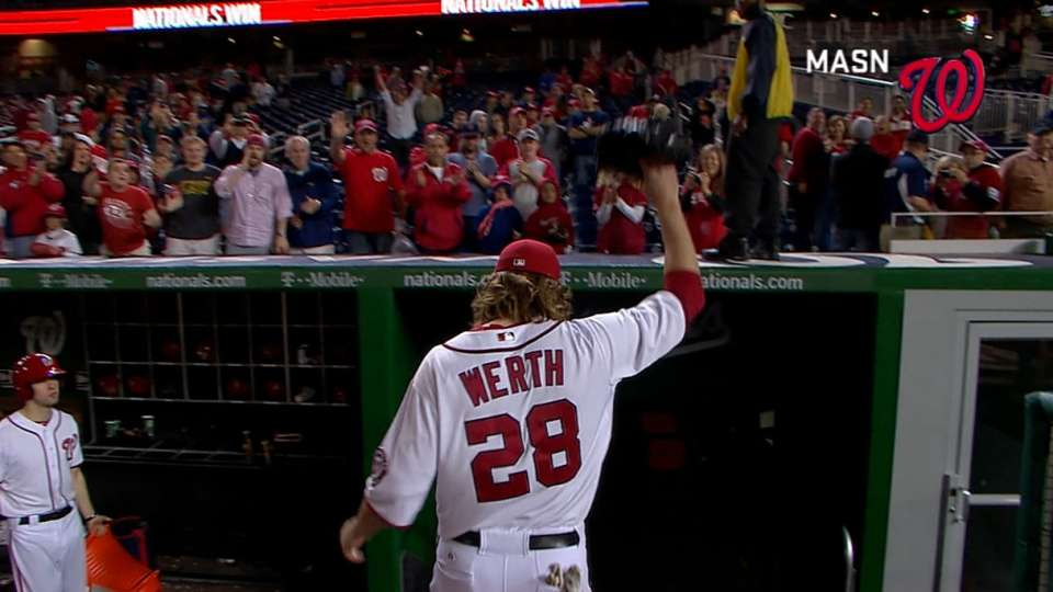 Werth on Nationals' win