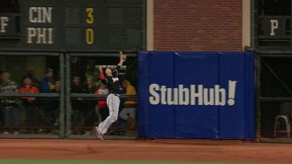 Stanton's fantastic catch