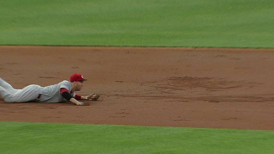 Frazier's diving stop