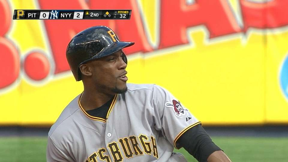 Marte goes 3-for-3
