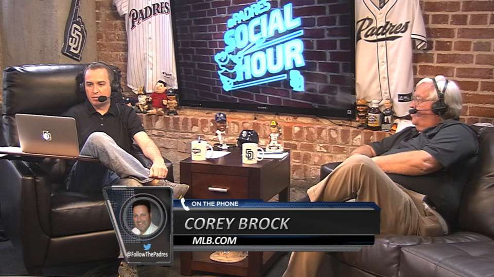Brock on Padres Social Hour