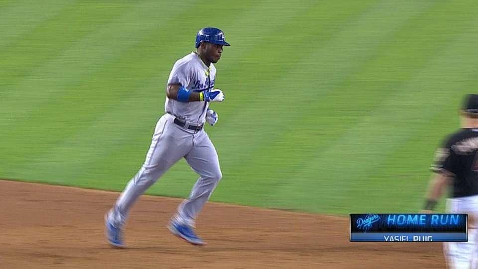 Puig's two-run home run