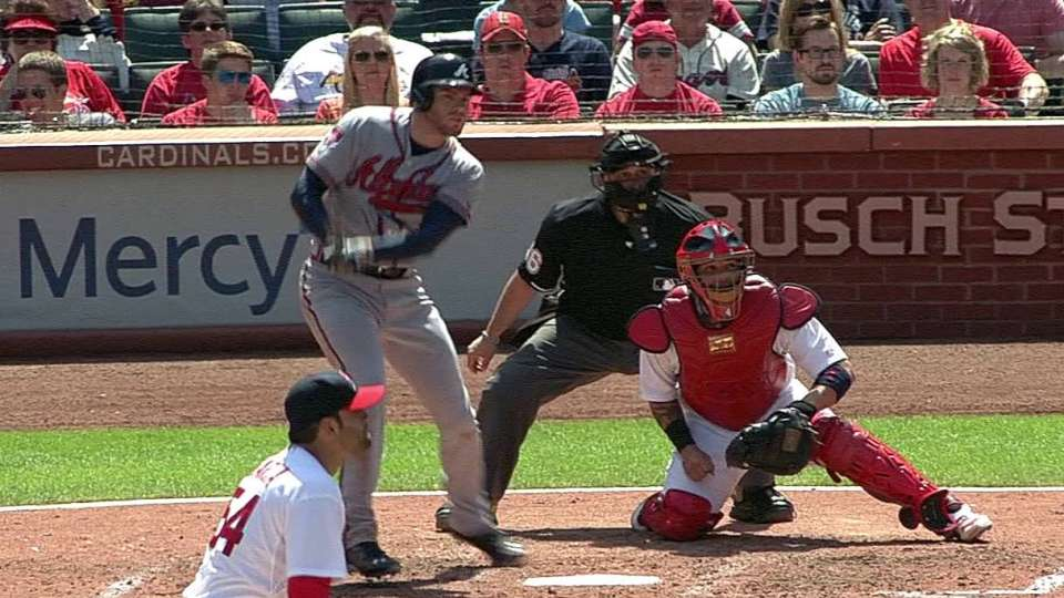 Freeman's two-run single