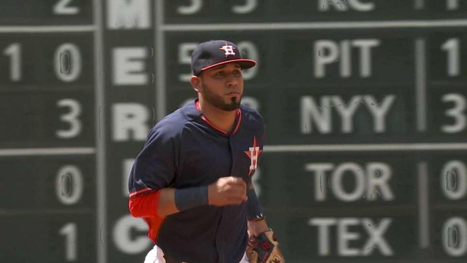 Astros' nice double play