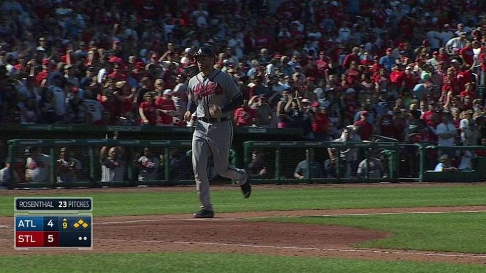 Schafer's game-tying RBI walk