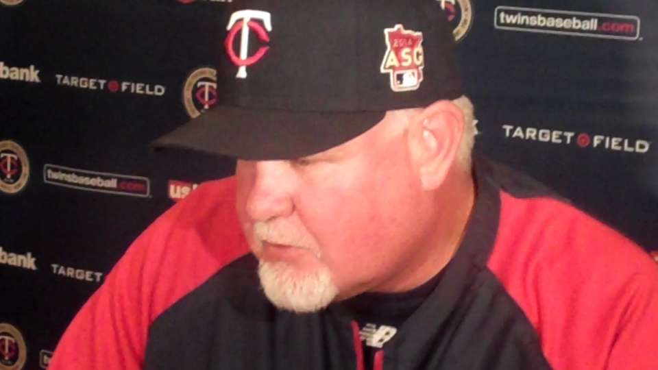 Gardenhire on loss to Seattle