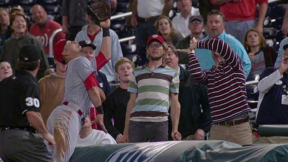 Soto's impressive catch