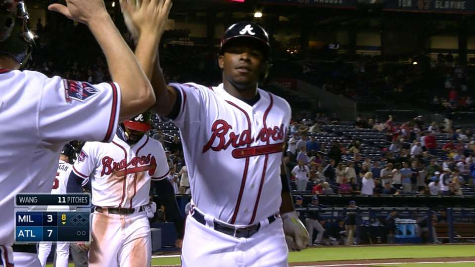 Braves' five-run 8th