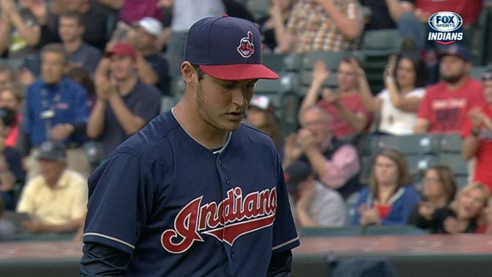 Bauer's five strikeouts