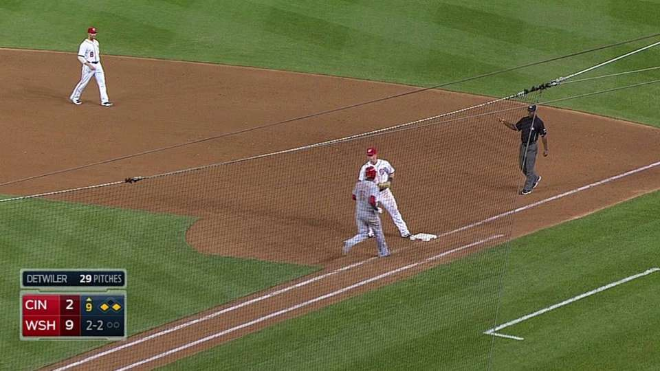 Cozart scores on grounder