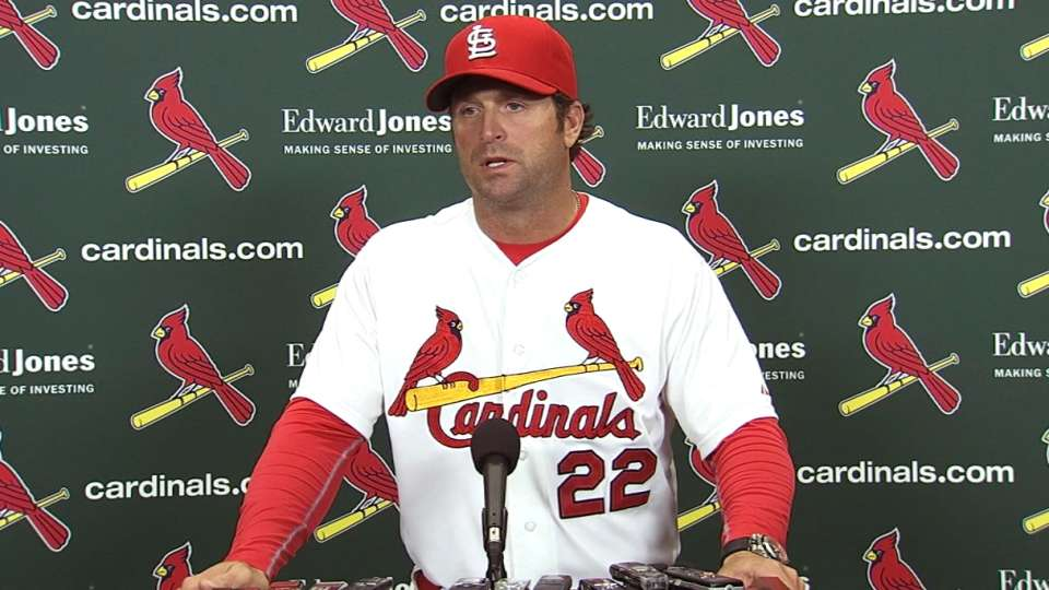 Matheny on Wainwright's pitching