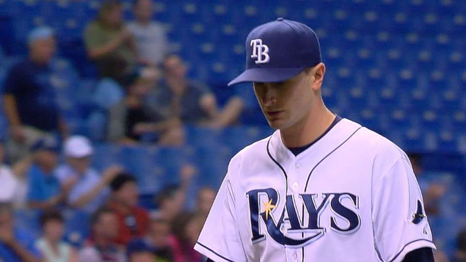 Odorizzi's eight strikeouts