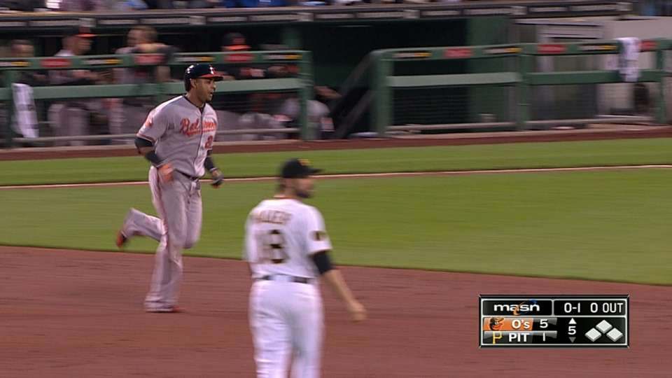 Orioles' four homers
