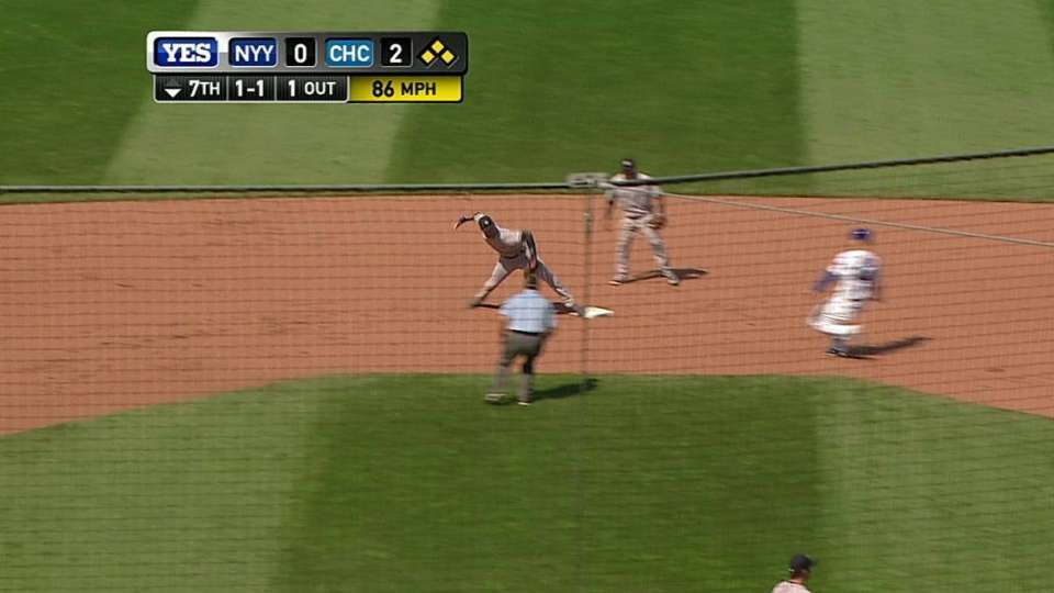 Jeter turns clutch double play
