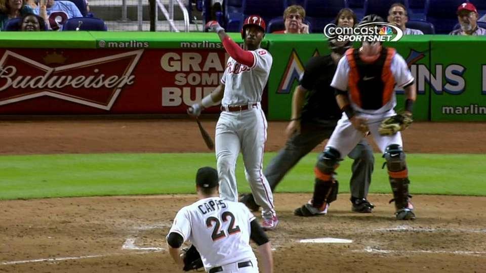 Brown's two-run homer