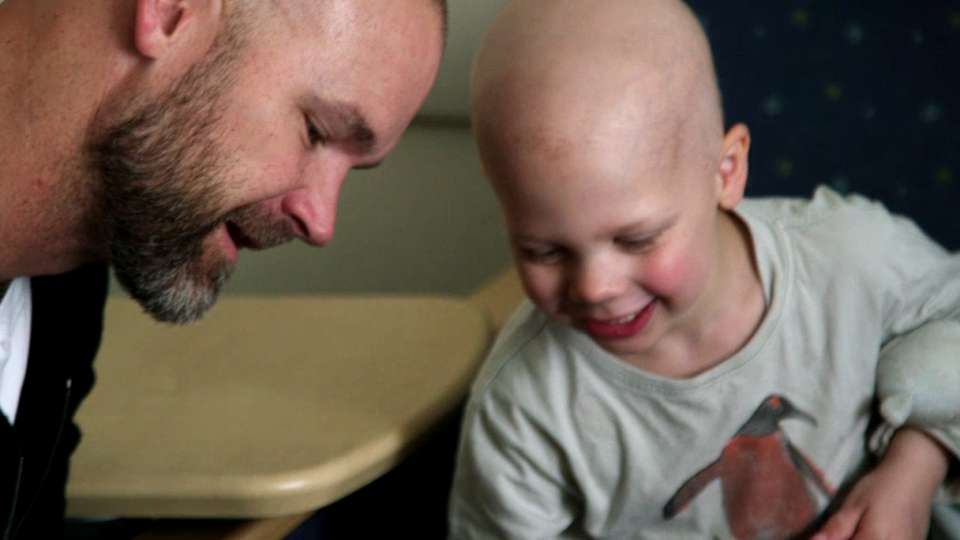 Ross visits the Jimmy Fund