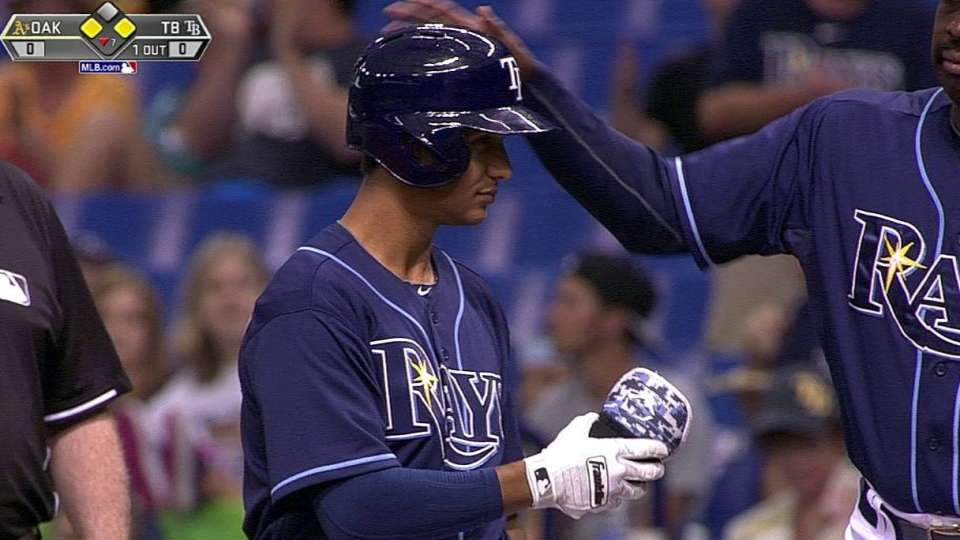 Figueroa's first MLB hit
