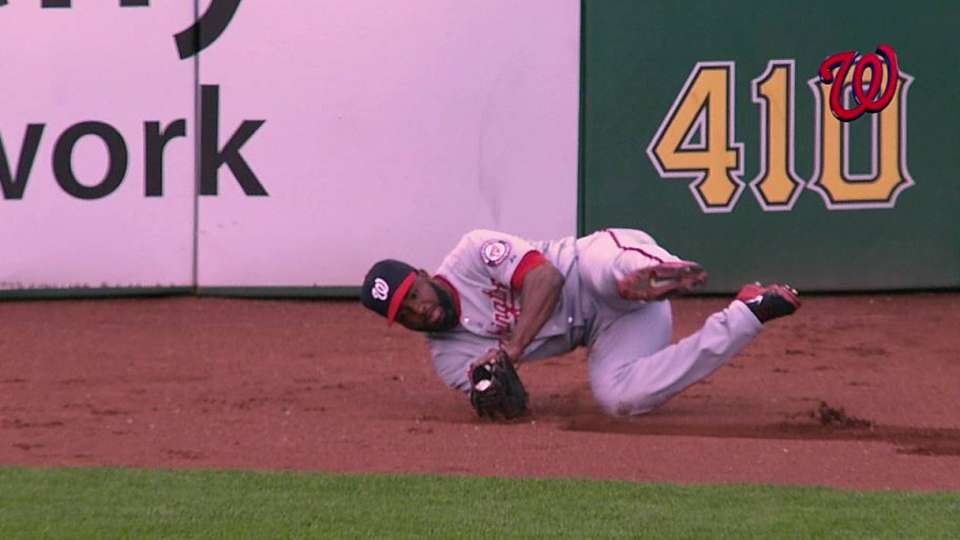 Span's catch in the gap