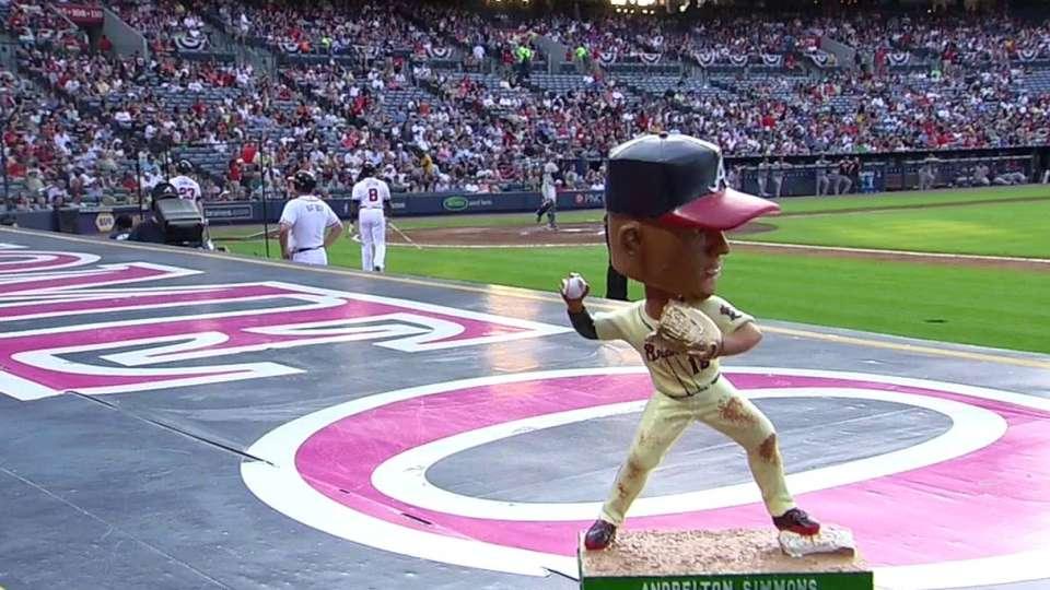 Braves on Simmons' bobblehead