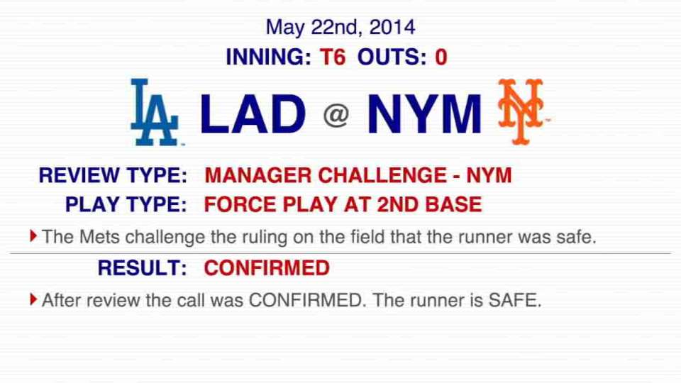 Call is confirmed in the 6th
