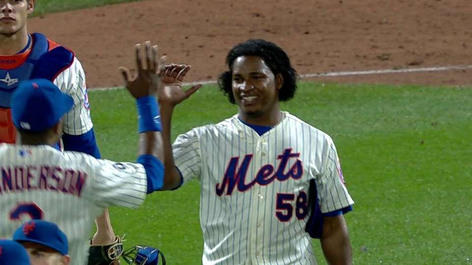 Mejia notches save
