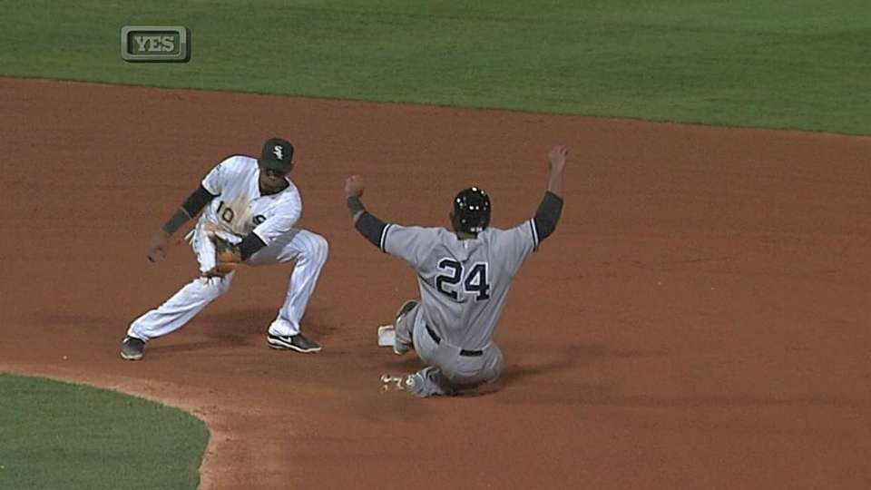 Almonte swipes second