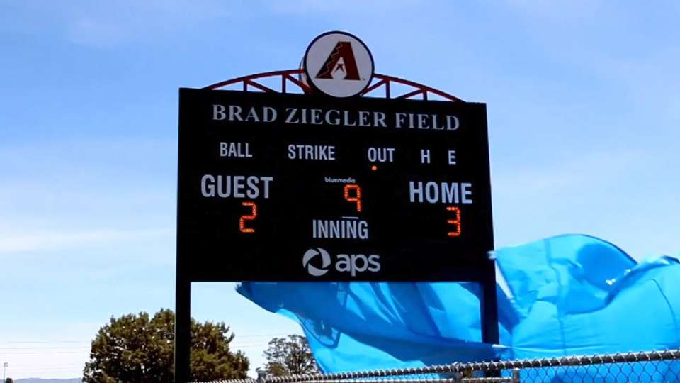 Ziegler field dedication
