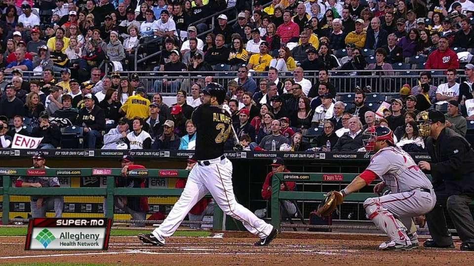 Alvarez's two-run home run