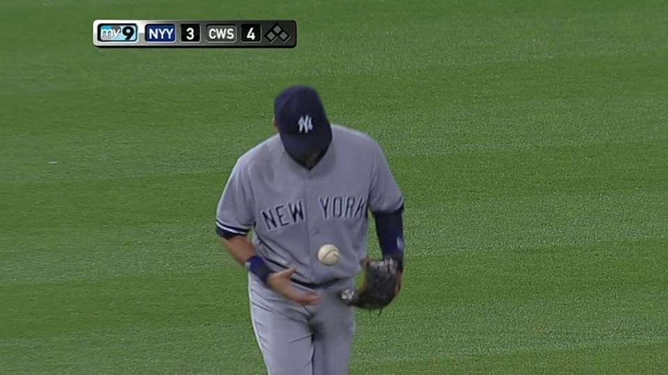 Jeter's impressive defense