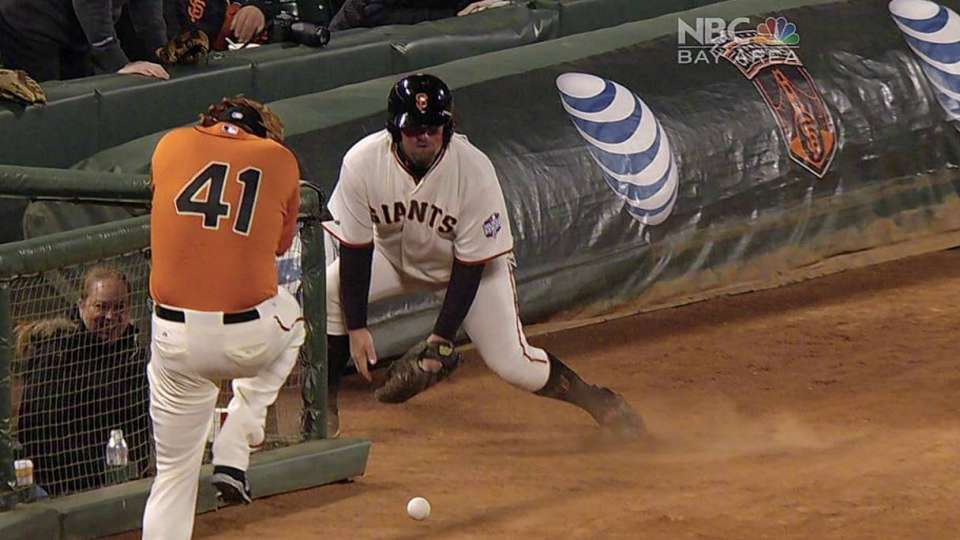 Affeldt dodges ball