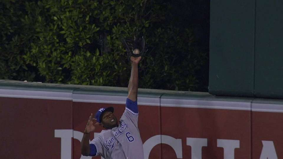 Cain's amazing catch