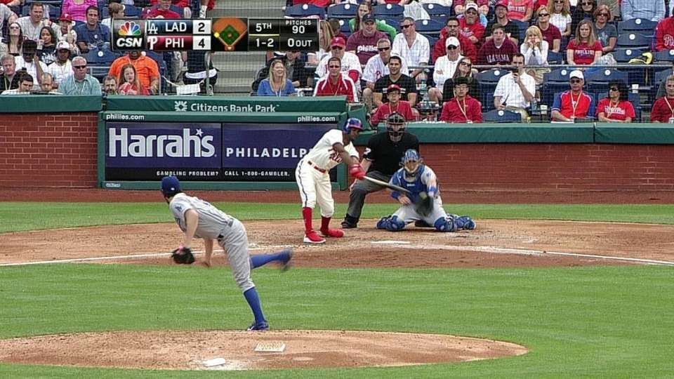 Rollins' RBI groundout