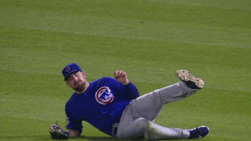 Kalish's inning-ending catch