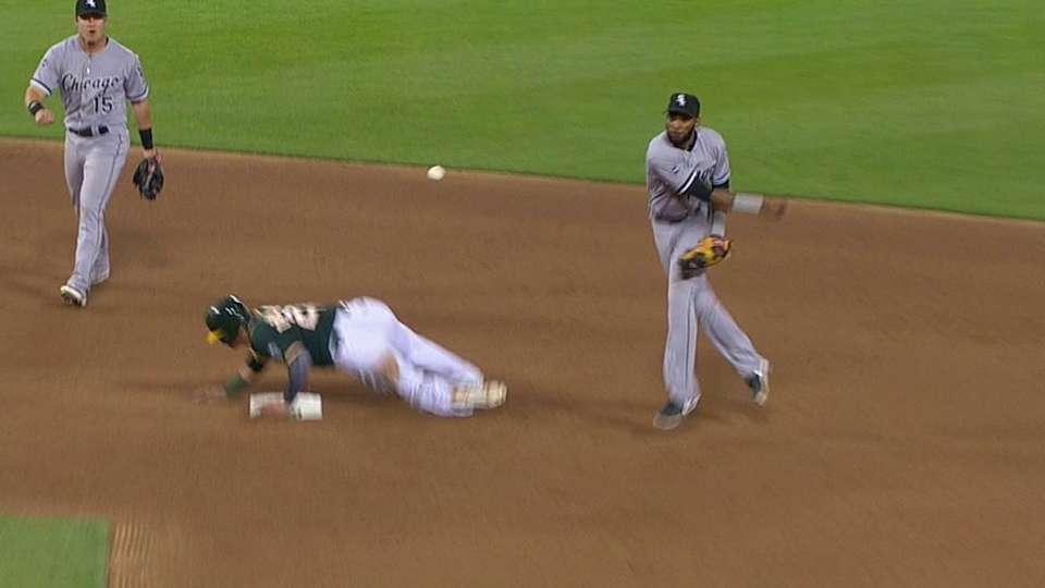 Ramirez's impressive double play
