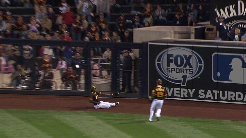 Maybin's sliding catch