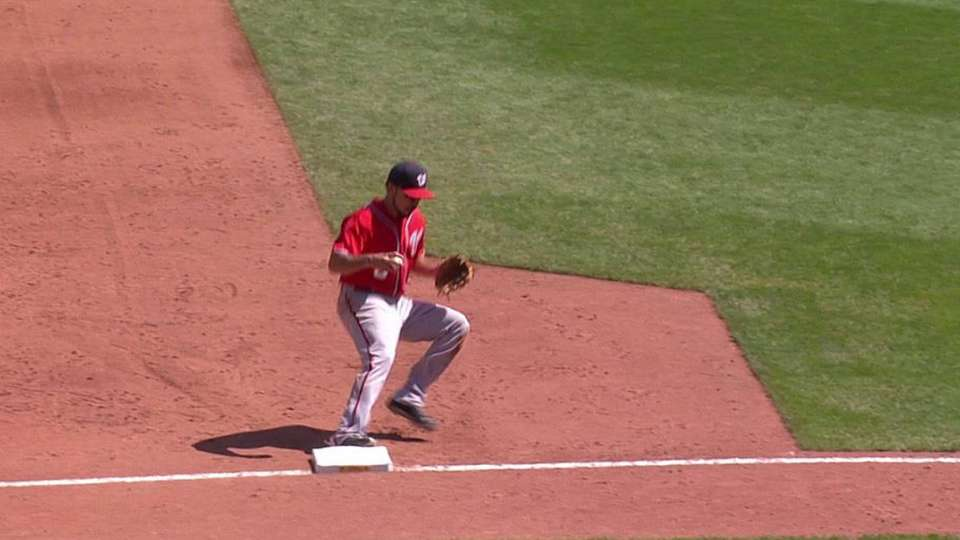 Stammen induces double play