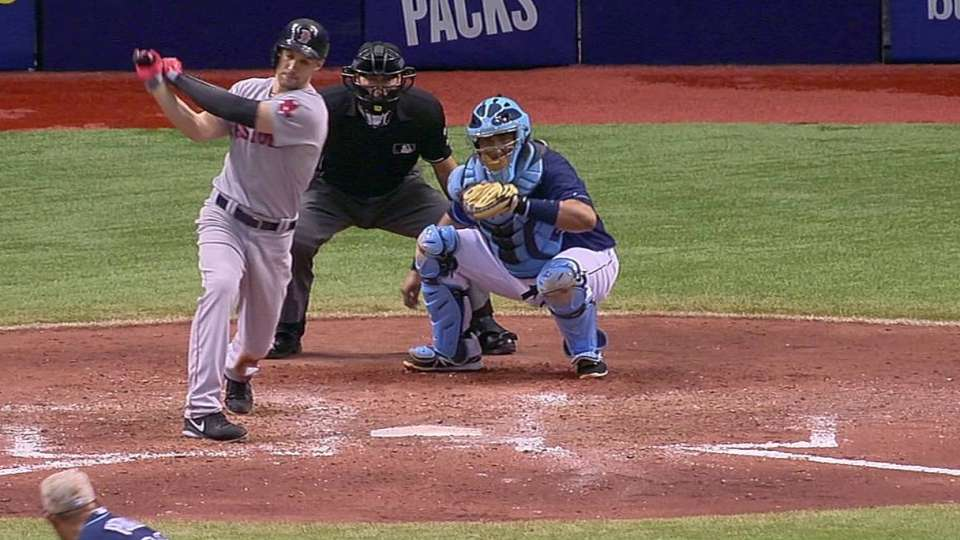 Peralta sets Rays record