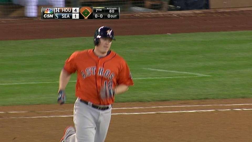 Krauss' two-run homer