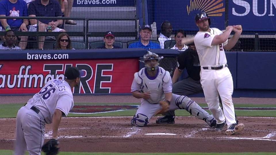Gattis' two-run homer