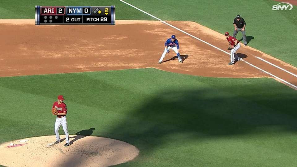 Recker's four-hit game
